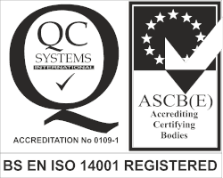 BS EN ISO 14001 Registered Firm